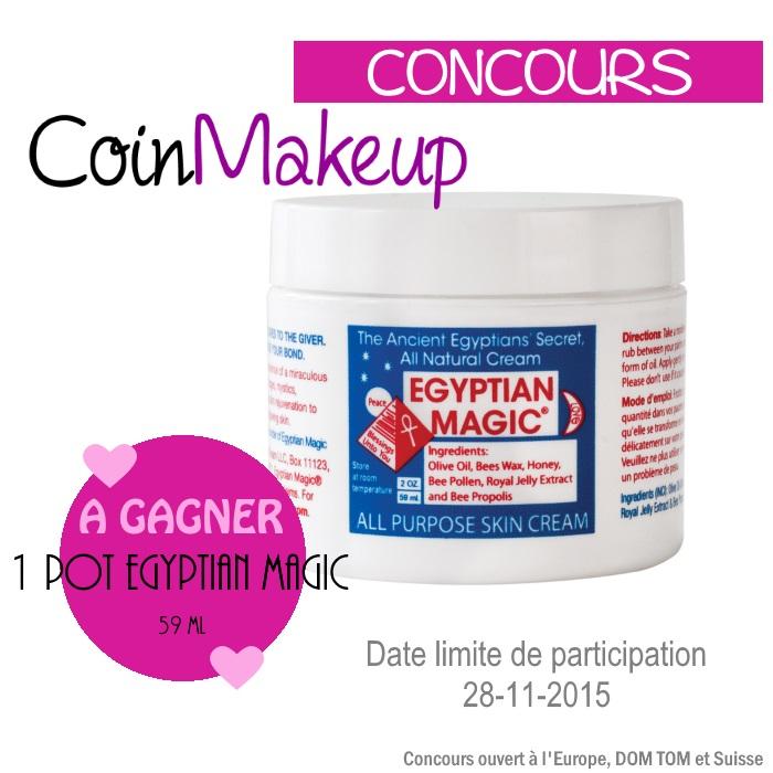concours coinmakeup egyptian
