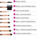 Set Pinceaux - Rose Gold Brush Set BH COSMETICS