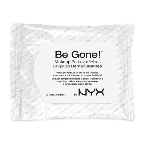Lingettes Démaquillantes - Be Gone ! Makeup Remover Wipes NYX