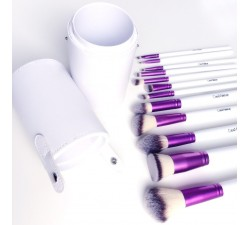 Kit 12 Pinceaux Pro Purple Plus COINMAKEUP