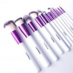Kit 12 Pinceaux Pro Purple COINMAKEUP