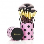 Set Pinceaux Pink A Dot Brush Set BH COSMETICS