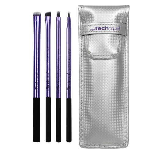 Kit 4 Pinceaux Yeux - Eyelining Set REAL TECHNIQUES