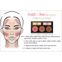 Palette Forever Nude Sculpt & Glow Contouring BH COSMETICS