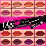 Rouge à Lèvres - Matte Pigment Gloss LA GIRL