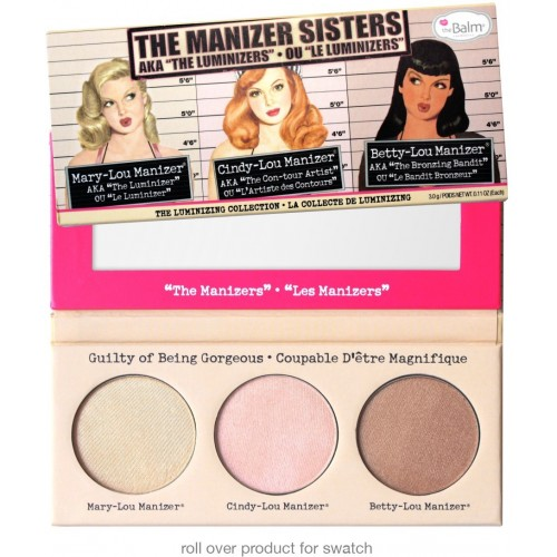 Palette Highlighter - The Manizer Sisters THE BALM