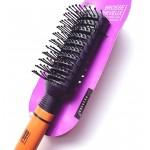 Brosse Cheveux Rectangle Manche Bois