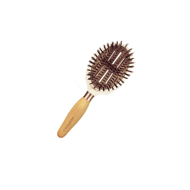 brosse cheveux shine finisher hair brush ecotools coinmakeup. Black Bedroom Furniture Sets. Home Design Ideas