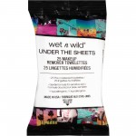 Lingettes Démaquillantes Under the Sheets Makeup Remover Wipes WET N WILD