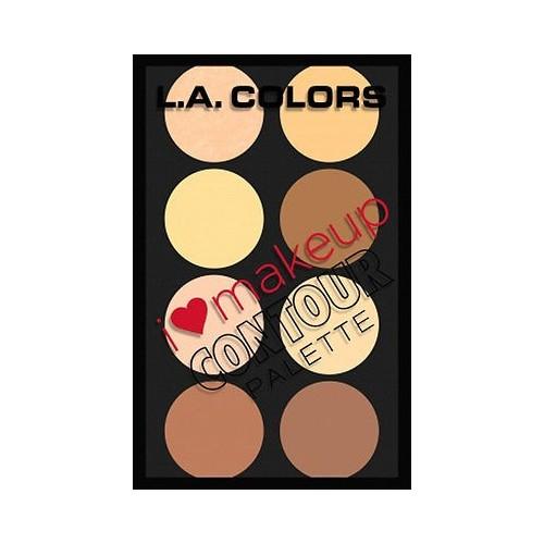 Palette Contour - I Heart Makeup Contour Palette LA COLORS