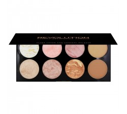 Ultra Blush Palette Golden Sugar MAKEUP REVOLUTION