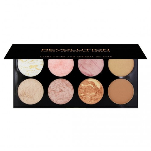 Palette Contour et Blush - Ultra Blush Palette Golden Sugar MAKEUP REVOLUTION