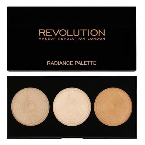Palette Highlighter - Highlighter Palette Radiance MAKEUP REVOLUTION