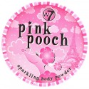 Poudre Corps Houpette - Pink Pooch Sparkling Body Powder W7
