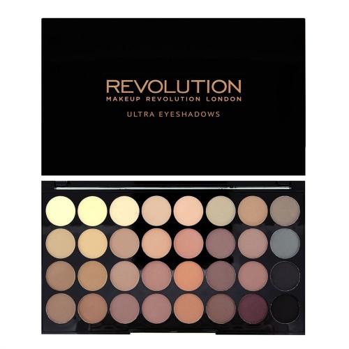 Palette Ultra 32 Eyeshadows Flawless Matte MAKEUP REVOLUTION