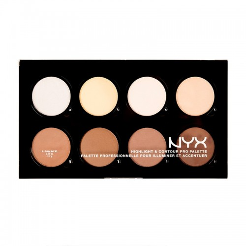 Palette Contouring - Highlight and Contour Pro Palette NYX