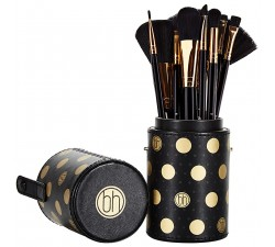 Set Pinceaux Dot Collection - Black BH COSMETICS