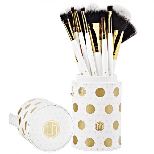 Set Pinceaux Dot Collection - White BH COSMETICS