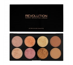 Palette Contour et Blush - Ultra Blush Palette Golden Sugar 2 MAKEUP REVOLUTION
