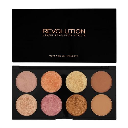 Palette Contour et Blush - Ultra Blush Palette Golden Sugar MAKEUP REVOLUTION