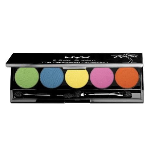 Palette 5 couleurs NYX