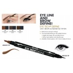 Feutre 2 en 1 - Eye Tech 2 in 1 Brow + Eyeliner Felt Tip Pen MILANI