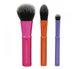 Kit 3 Mini Pinceaux Mini Brush Trio REAL TECHNIQUES