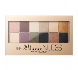 Palette Yeux The 24 Karat Nudes MAYBELLINE