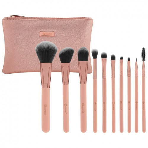 Set Pinceaux - Metal Rose BH COSMETICS