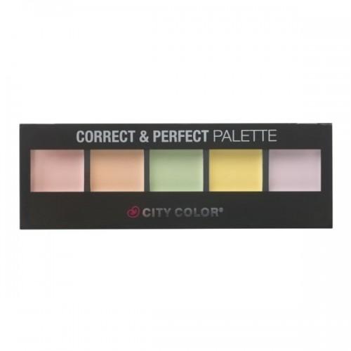 Palette Correcteur - Correct & Perfect Palette CITY COLOR