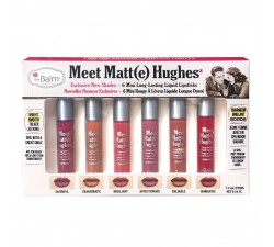 Kit 6 Mini Rouge à Lèvres - Meet Matte Hughes - Edition 2 THE BALM