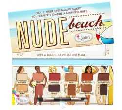 Palette Nude Beach THE BALM
