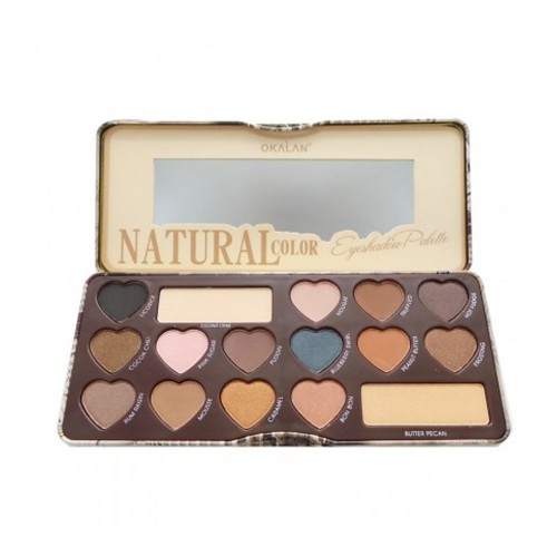 Palette Yeux - Natural Color Eyeshadow Palette OKALAN