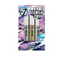 Kit Eyeliner - Metal Flash Trio W7