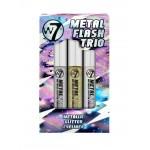 Kit Eyeliner - Metal Flash Trio W7