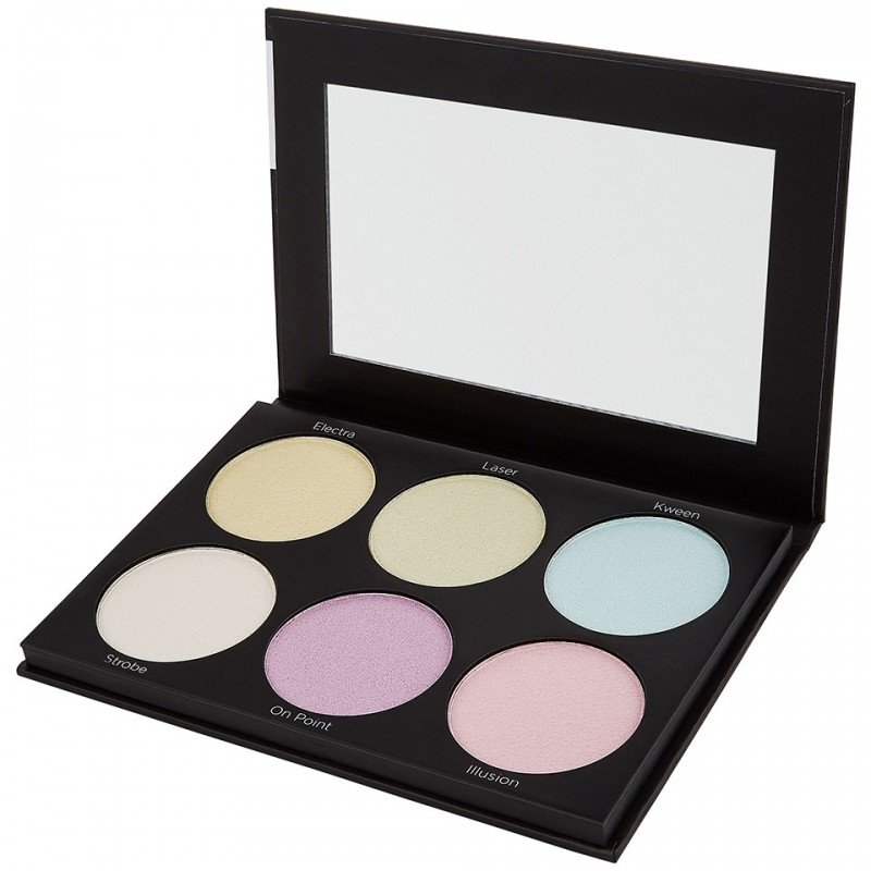 Palette Illuminateur - Blacklight Highlight - 6 Color ...