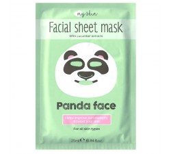 Masque Visage Tissu - Facial Sheet Mask - Panda Face