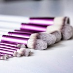 Kit 12 Pinceaux Pro Purple Plus COINMAKEUP